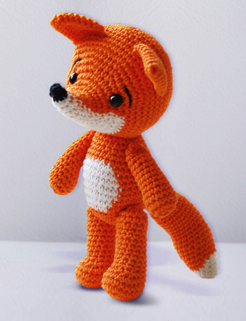 Sleepy Fox Amigurumi - PDF Crochet Pattern Images - Frompo