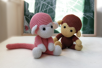 Amigurumi Monkey Patterns : Sock monkey amigurumi free pattern craft passion