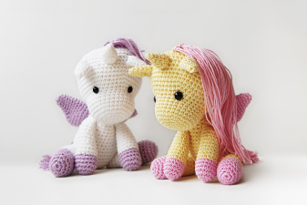 Free Crochet Unicorn Pattern - thefriendlyredfox.com | 225x337