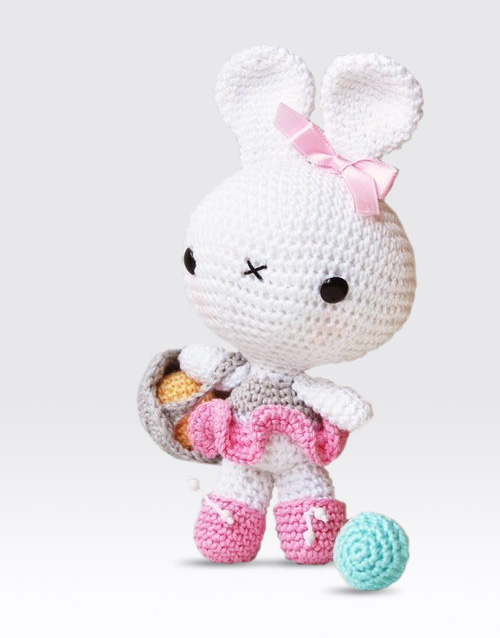 Amigurumi Pattern Rabbit : Bunny and Chick Amigurumi Pattern Pepika Amigurumis