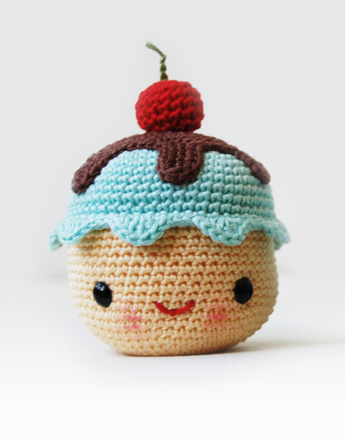Amigurumi Coffee and Cupcake