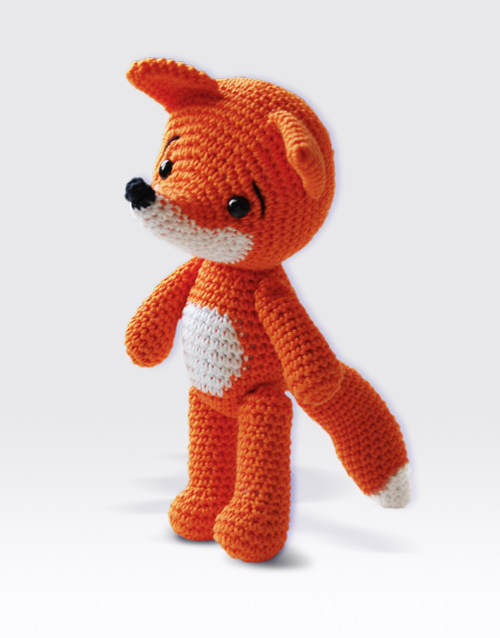 Amigurumi Strawberry Girl Free Pattern : Lisa the Fox Amigurumi Pattern Pepika Amigurumis