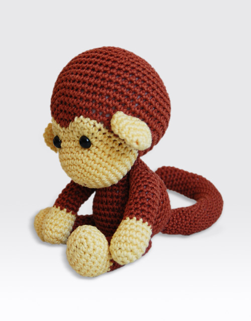 Amigurumi To Go Monkey : Johnny the Monkey Amigurumi Pattern Pepika Amigurumis