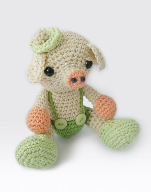 Little pig - free amigurumi pattern | Languages: English, Sp… | Flickr | 638x500