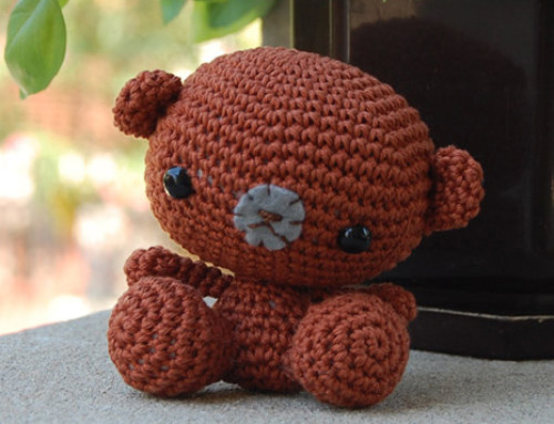 LITTLE BEAR TESTED FOR ZOOMIGURUMI