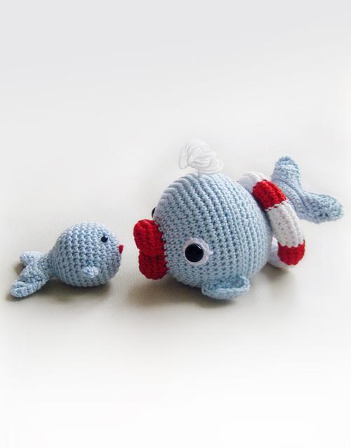 Ravelry: Tiny Whale Amigurumi pattern by Codi Hudnall   638x500