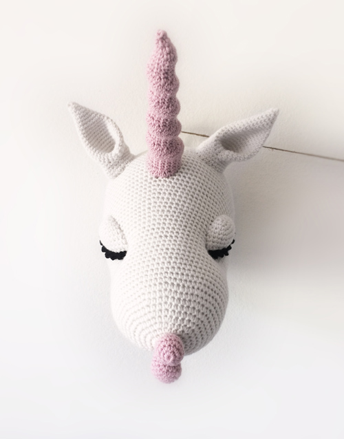 Finest ANNABEL THE UNICORN – Faux Taxidermy Pattern – Pepika Amigurumis ED39